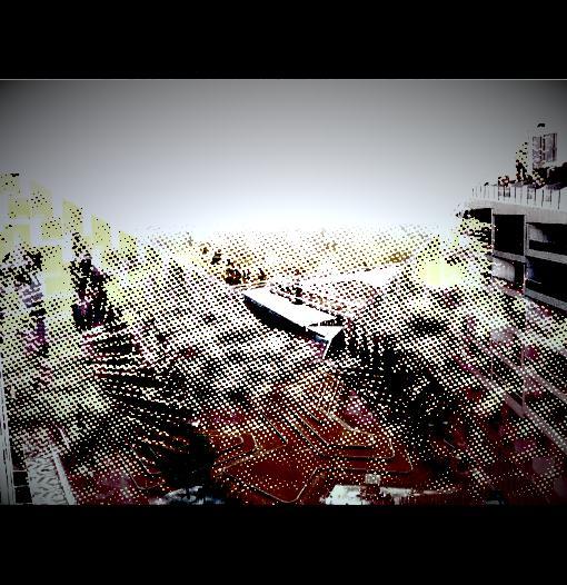 cityscape filmstock dotty monoch